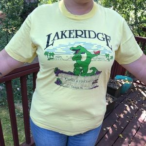 Other - Vintage winery graphic T